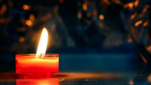 Red candle Royalty-free stock video