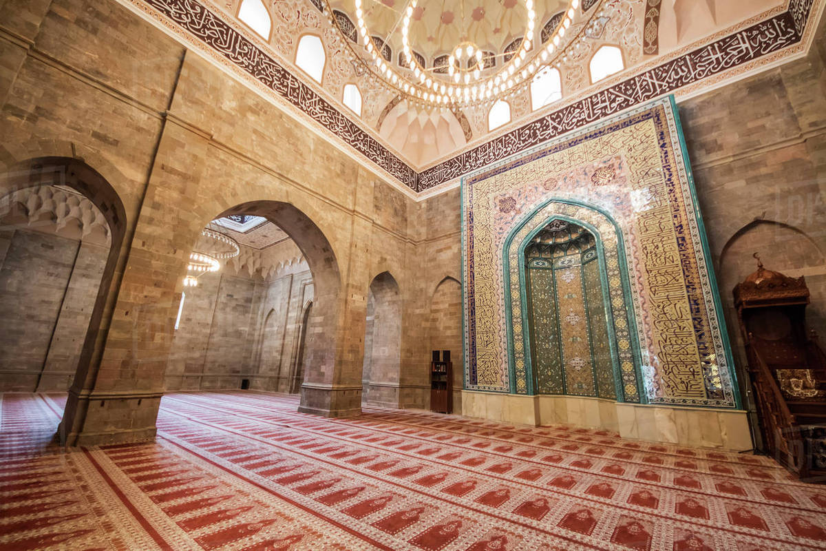 Interior Design Web App Mihrab And Minbar In The Prayer Hall Of The Juma Mosque Of