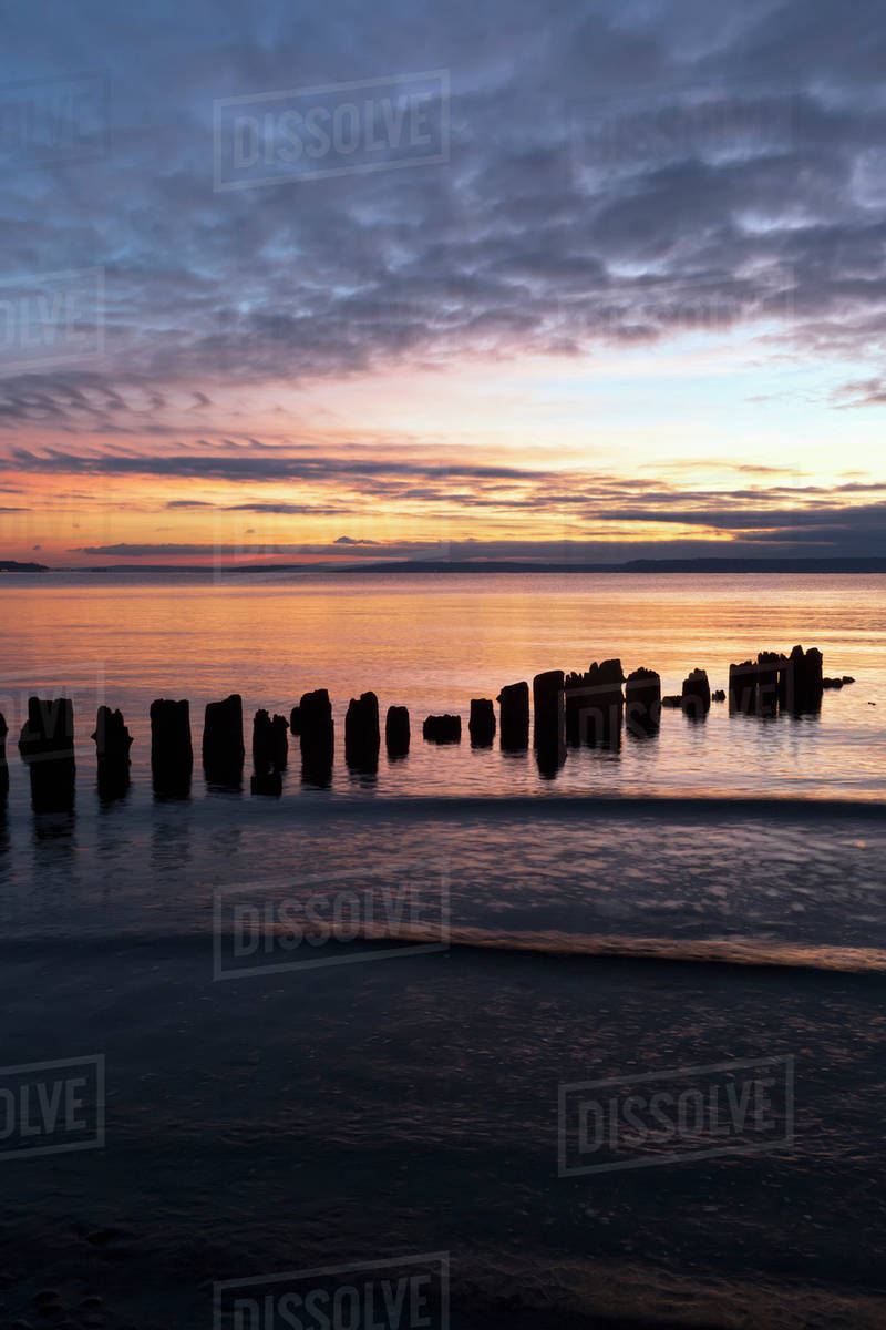 Picnic Point After Sunset >> Sunset At Picnic Point Everett Washington United States Of