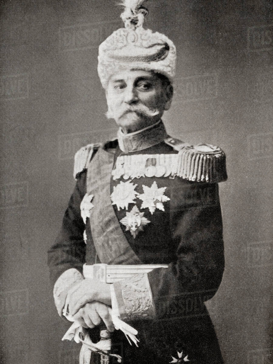 Peter I of Serbia, 1844 – 1921. Last King of Serbia (1903–1918 ...