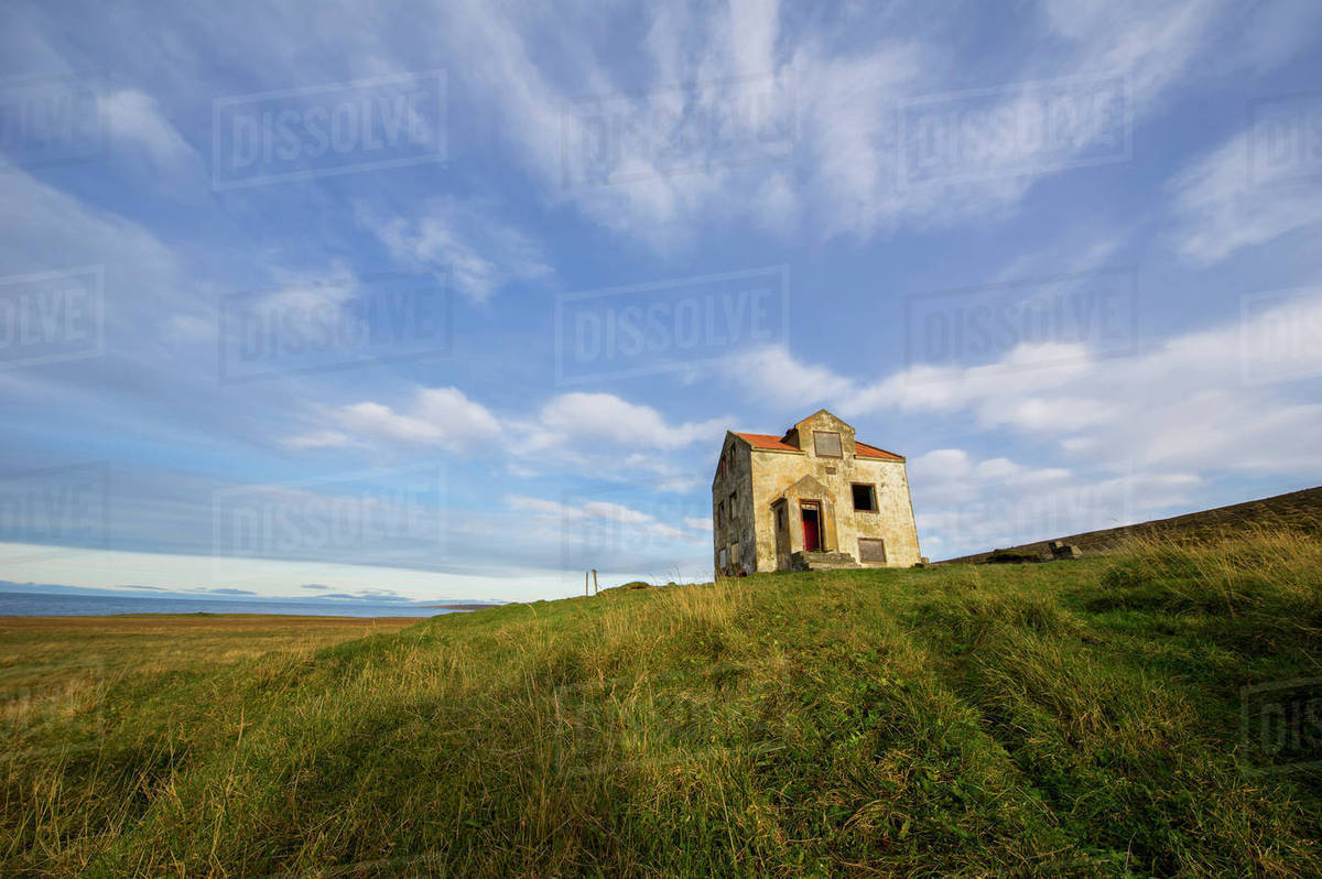 Abandoned House In Rural Iceland