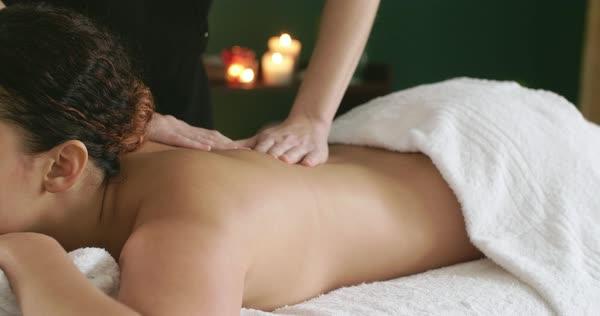 Pretty massage session