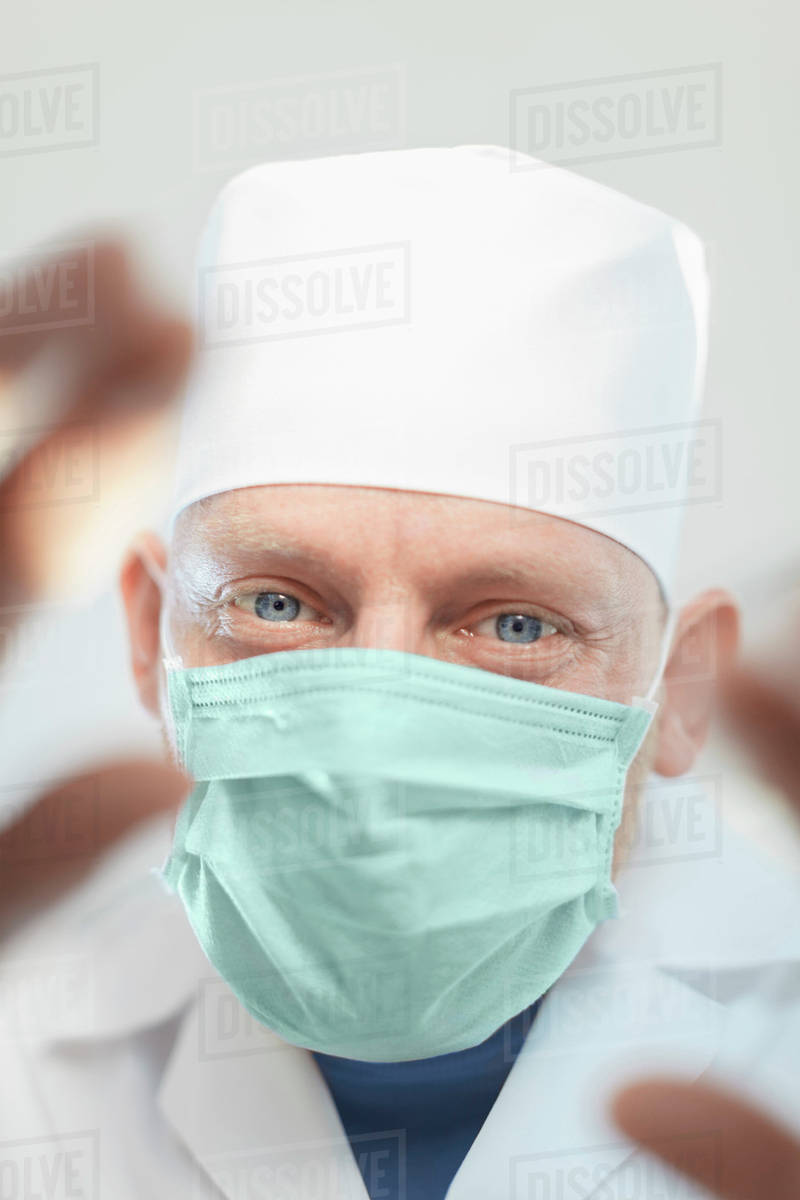 Surgeon Portrait In D929 Surgical Hands Mask Of Wearing 12 Mature With 287