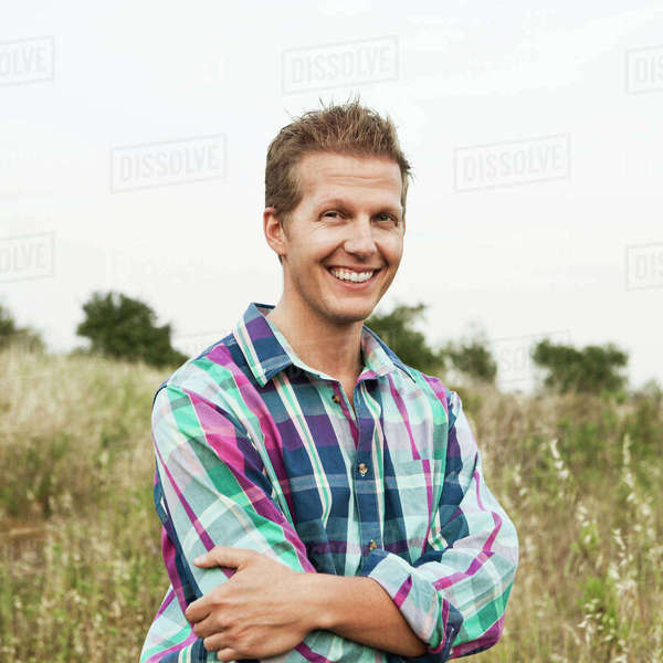Portrait of smiling handsome mid adult man Royalty-free stock photo