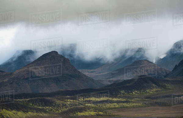 Highlands, Iceland Royalty-free stock photo