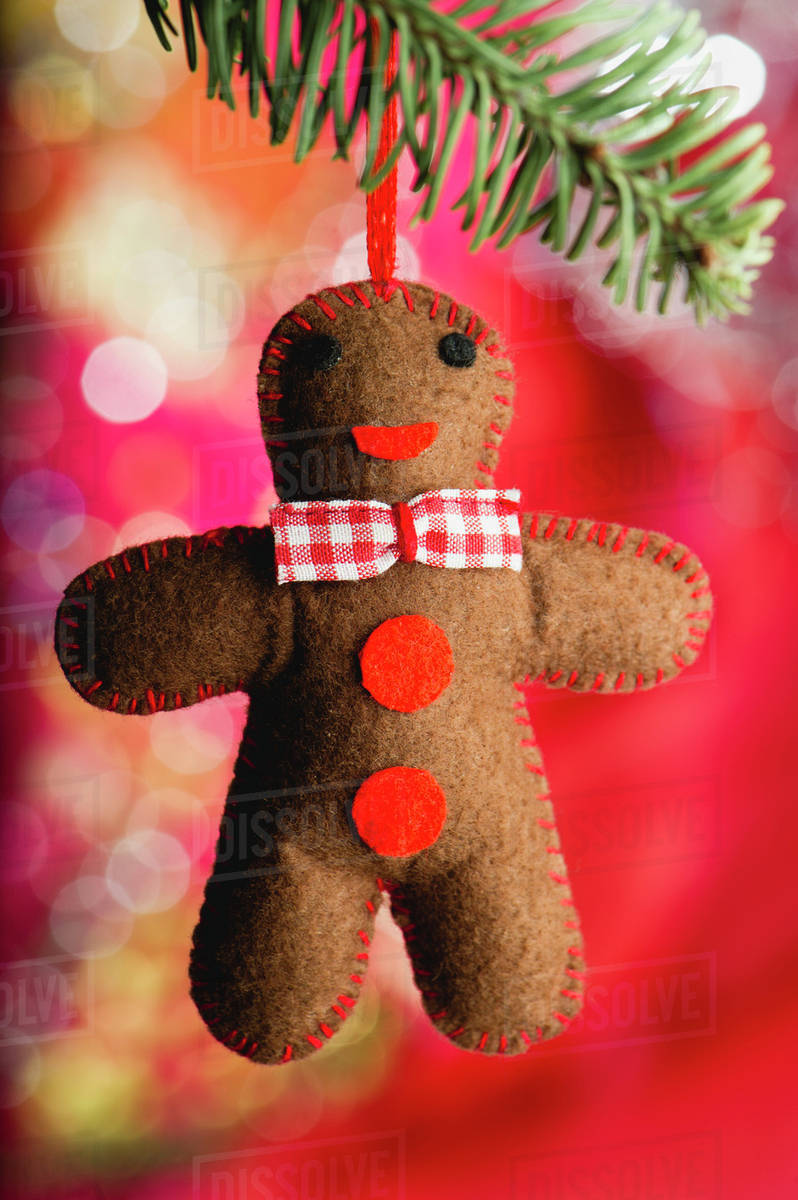 gingerbread man christmas ornament - Gingerbread Man Christmas Decorations
