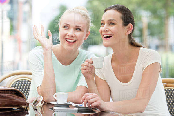 Friends having laugh together Royalty-free stock photo