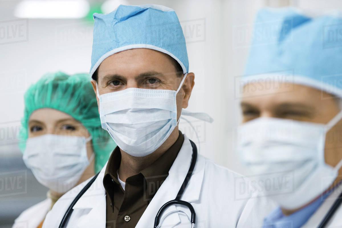 Masks D984 Doctors 807 41 Wearing Surgical