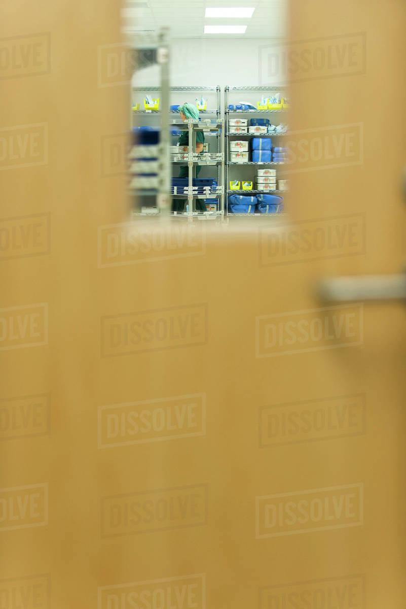 bb075ec550c Medical supplies storage room - Stock Photo - Dissolve