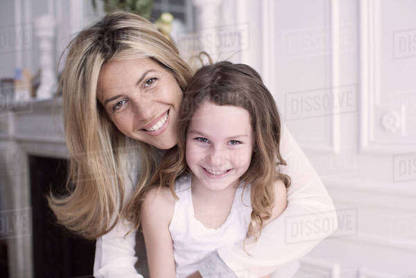 Mother and daughter, portrait Royalty-free stock photo