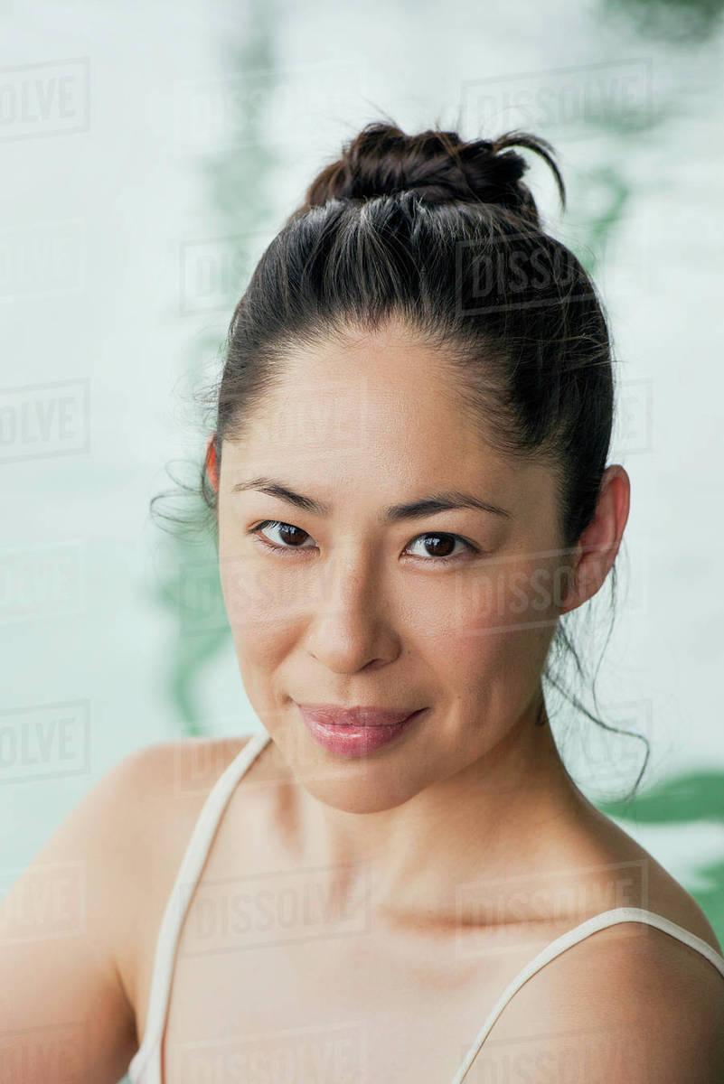 stock photo asian woman