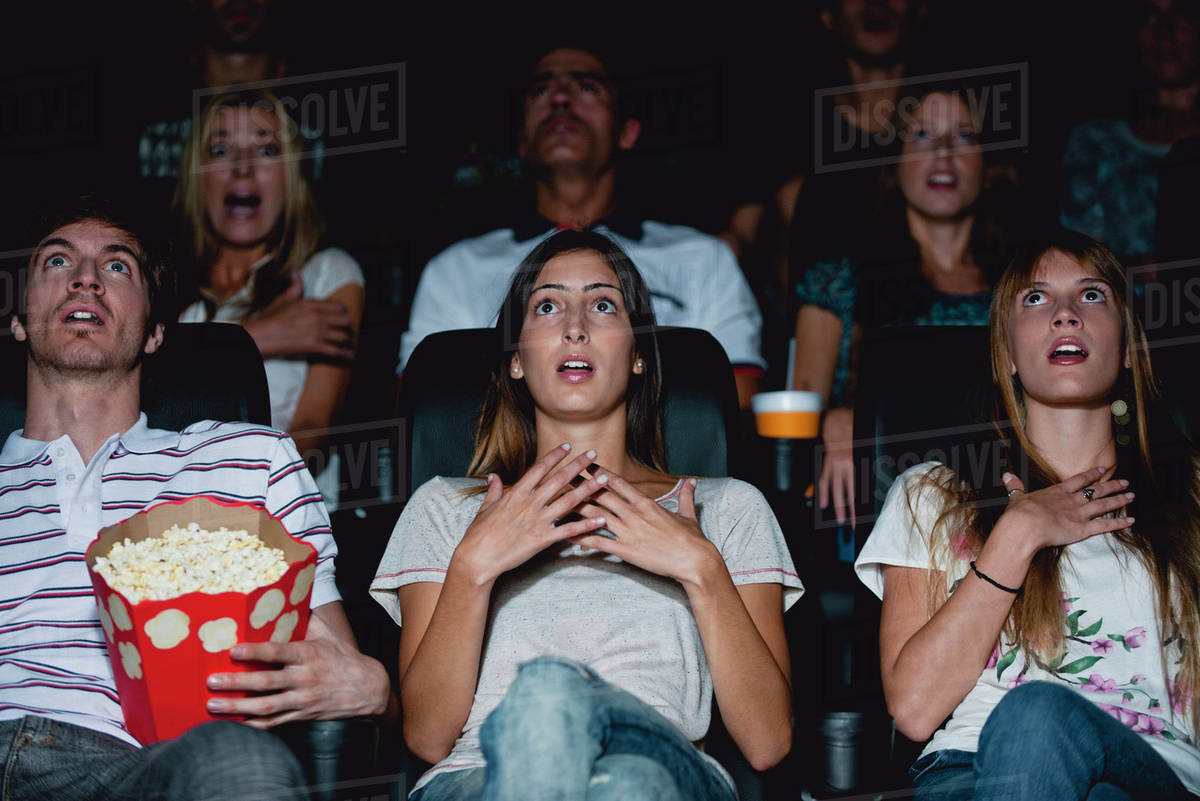 Image result for shocked  movie audience