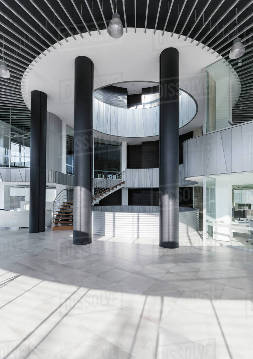 Exceptional Architectural, Modern Office Lobby